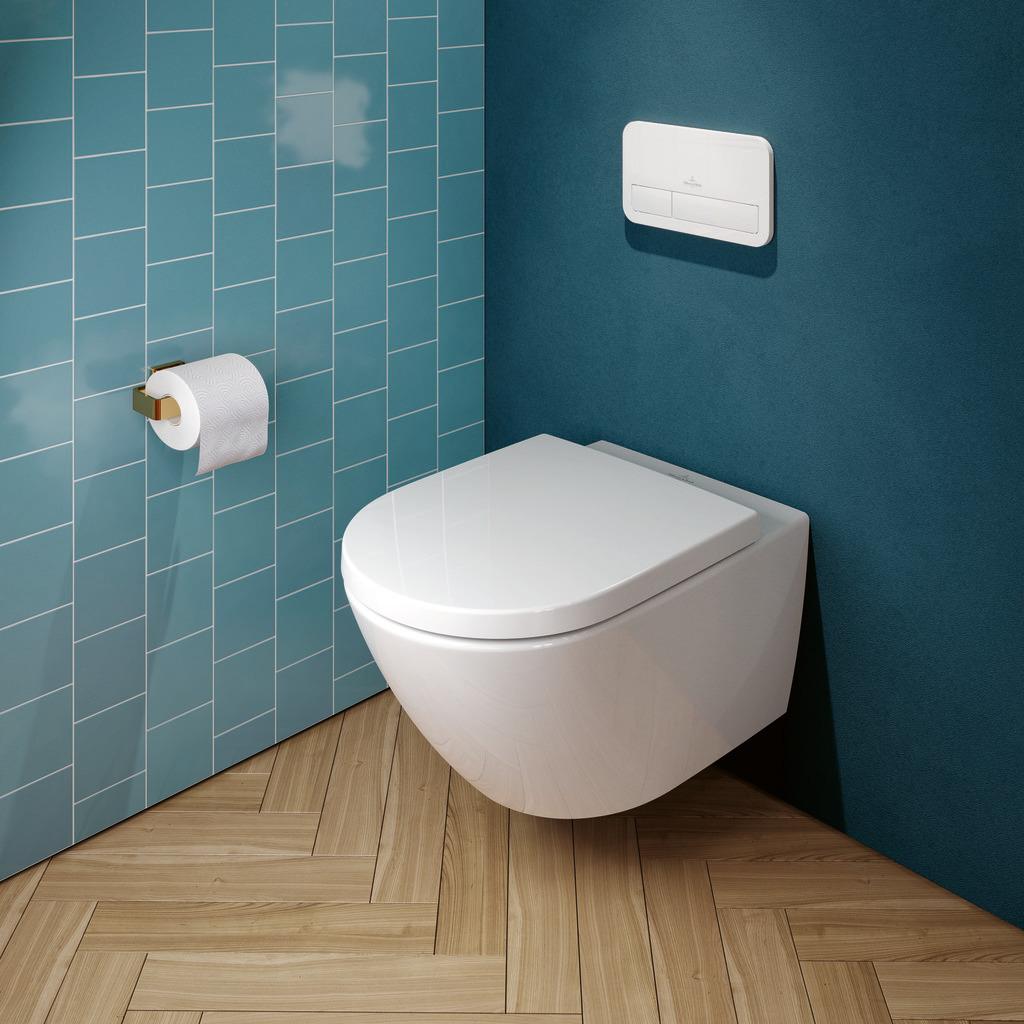 Un WC semplice da pulire e a risparmio idrico? Ecco il sistema TwistFlush progettato da Villeroy & Boch